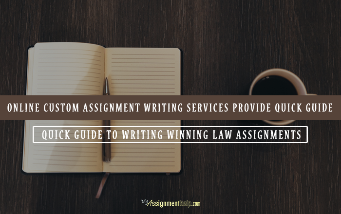 online custom assignment writing service