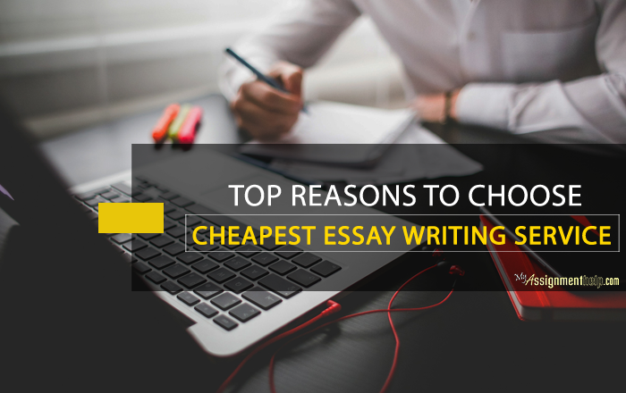 Cheapest essay service