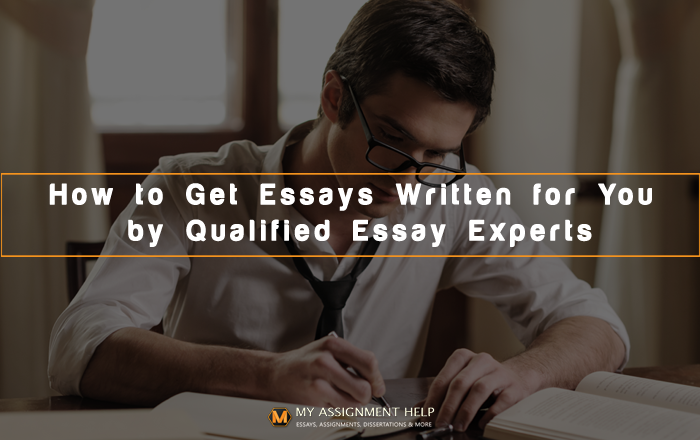 Get Essays Written for You